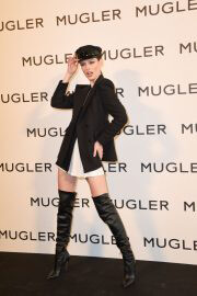 Coco Rocha at Thierry Mugler: Couturissime Exhibition Opening Ceremony in Paris 09/28/2021 1