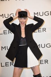 Coco Rocha at Thierry Mugler: Couturissime Exhibition Opening Ceremony in Paris 09/28/2021 2