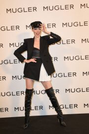 Coco Rocha at Thierry Mugler: Couturissime Exhibition Opening Ceremony in Paris 09/28/2021 6