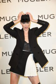 Coco Rocha at Thierry Mugler: Couturissime Exhibition Opening Ceremony in Paris 09/28/2021 7