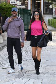 Daniela Miglietta Arrives at Dancing With The Stars Rehersal in Rome 09/27/2021 1